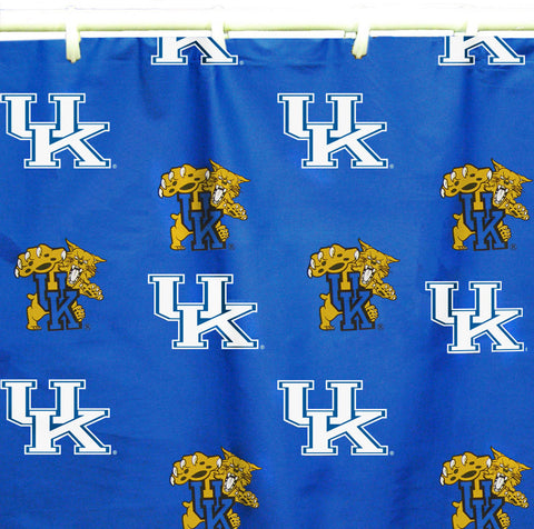 "Kentucky Printed Shower Curtain Cover 70"" X 72"" - KENSC by College Covers - Peazz.com"