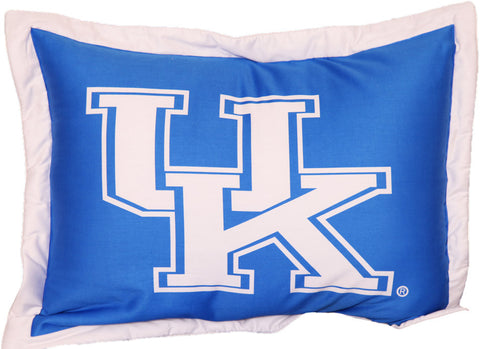 Kentucky Printed Pillow Sham - KENSH by College Covers - Peazz.com