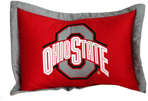 Ohio State Printed Pillow Sham - OHISH by College Covers - Peazz.com