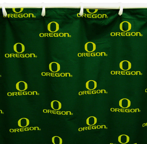 "Oregon Printed Shower Curtain Cover 70"" X 72"" - ORESC by College Covers - Peazz.com"