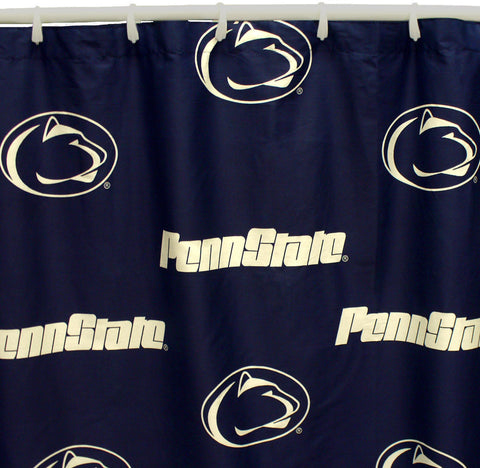 "Penn State Printed Shower Curtain Cover 70"" X 72"" - PSUSC by College Covers - Peazz.com"