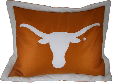 Texas Printed Pillow Sham - TEXSH by College Covers - Peazz.com
