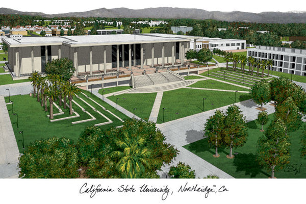 California State University Northridge Campus Images