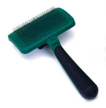 Safari Self - cleaning Slicker Brush Small - Peazz.com