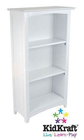 KidKraft Avalon Tall Bookshelf - White 14001 - Peazz.com