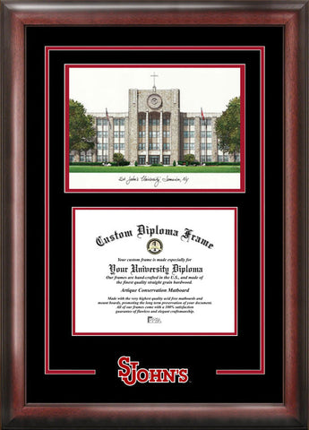 St. John's UniversitySpirit Graduate Frame with Campus Image - Peazz.com