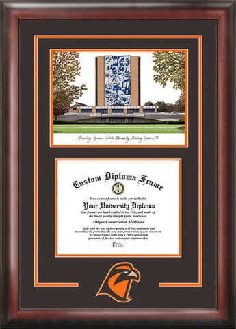 Bowling Green State Spirit Graduate Frame with Campus Image - Peazz.com