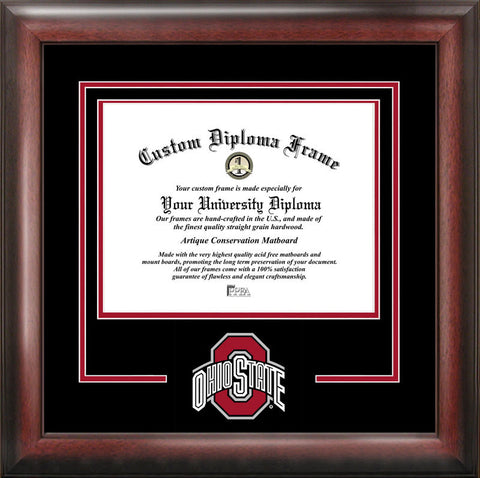 Ohio State University Spirit Diploma Frame - Peazz.com