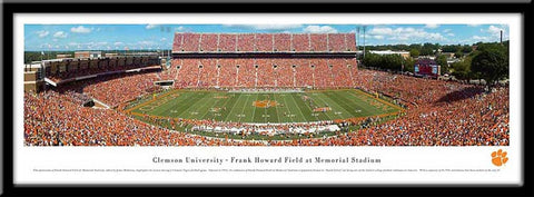 Clemson University Framed Stadium Print - Peazz.com