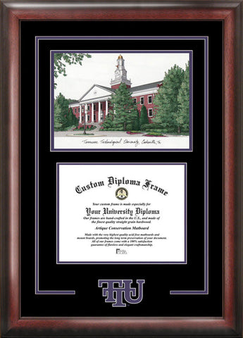 Tennessee Tech University Spirit Graduate Frame with Campus Image - Peazz.com