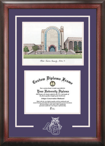 Abilene Christian University Spirit Graduate Frame with Campus Image - Peazz.com