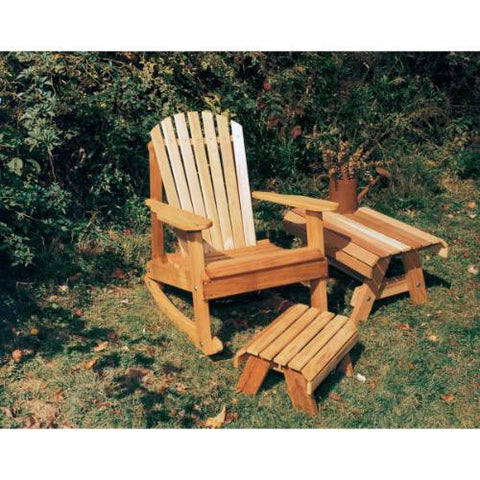 Creekvine Design WRFKEYRCOLLCVD Cedar American Forest Adirondack Rocker Collection - Peazz.com