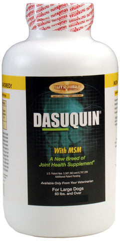 Dasuquin for Large Dogs 60 lbs. and Over with MSM (84 Chews) - Peazz.com
