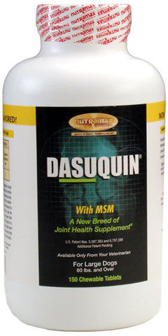 Dasuquin for Large Dogs 60 lbs. and Over with MSM (150 Chews) - Peazz.com