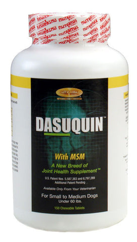 Dasuquin for Small/Medium Dogs Under 60 lbs. with MSM (150 Chews) - Peazz.com