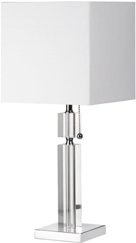 Dainolite 1 Lite Acrylic With Polished Chrome Table Lamp DM231-PC - Peazz.com