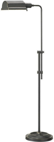 Dainolite Oil Brushed Bronze Adjustable Height Floor Lamp DM450F-OBB - Peazz.com