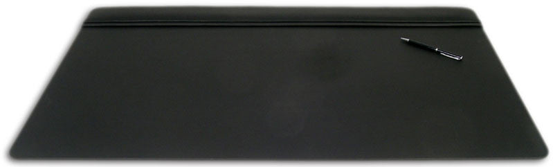Leather 34x20 Top-Rail Desk Pad P1021 by Decasso DEC-P1021