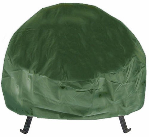 Deeco Consumer Products DM-RC-RF-G Round Fire Pit Cover Green - Peazz.com