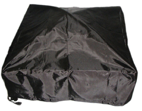 Deeco Consumer Products DM-RC-SF Square Fire Pit Cover Black - Peazz.com