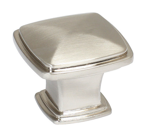 Design House 203323 Park Avenue Knob Satin Nickel - Peazz.com