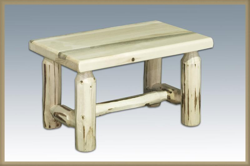 Montana Woodworks MWFS Footstool Ready To Finish