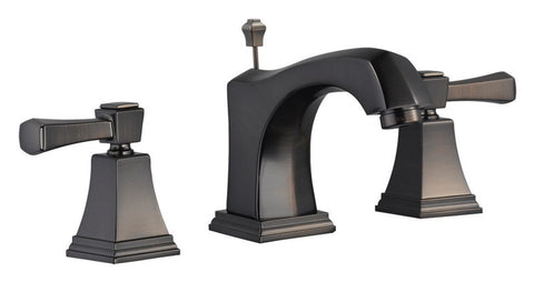 Design House 522060 Torino Wide Lavatory Faucet Brushed Bronze - Peazz.com