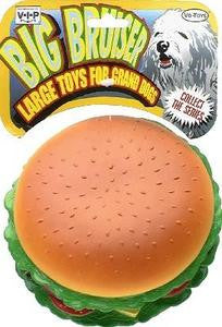 "Vinyl ""big Bruiser"" Burger W/works - Peazz.com"