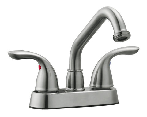 Design House 525147 Ashland Laundry Faucet Satin Nickel - Peazz.com