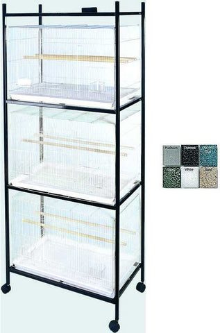 A&E Cage 503 Stand-4 Black 4 Tier, Stand for 503 Cages - Peazz.com