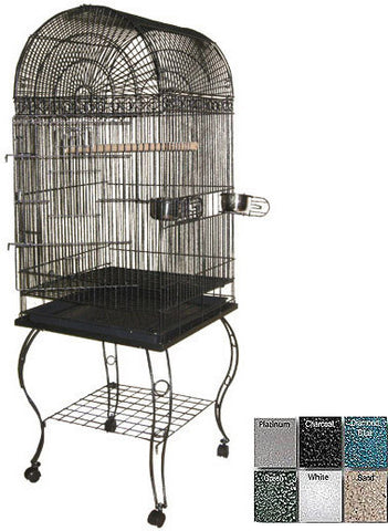 "A&E Cage 600A Black 20""x20"" Economy Dome Top Cage - Peazz.com"