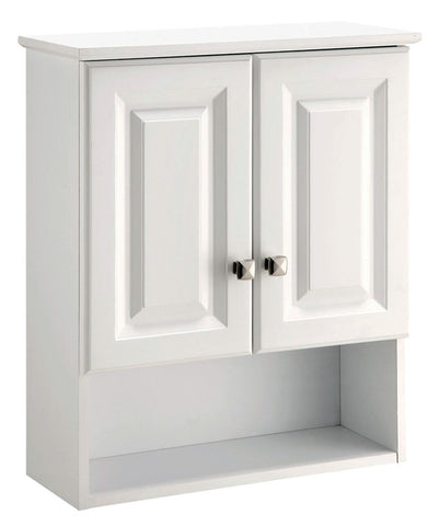 Design House 531715 Wyndham 21X26 Cabinet White 2Door White - Peazz.com