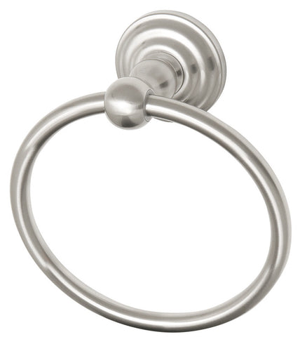 Design House 538355 Calisto Towel Ring Satin Nickel - Peazz.com