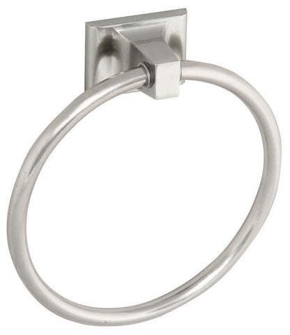Design House 539163 Millbridge Towel Ring Satin Nickel - Peazz.com