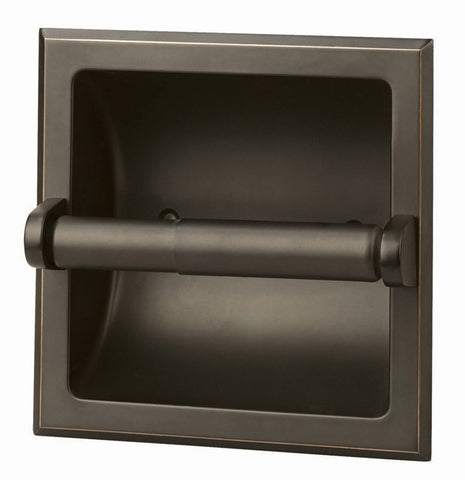 Design House 539254 Millbridge Recessed Toilet Paper Holder Oil Rubbed Bronze - Peazz.com