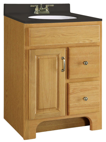 Design House 541128 Richland 24x18 Vanity 1door 2drawer Nutmeg Oak V