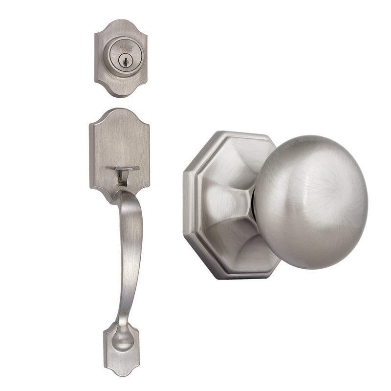 Design House 702902 Sussex/Barcelona/ Vibra Pewter Satin Nickel