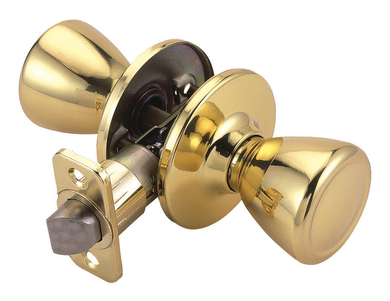 Design House 740589 Tulip/Passage/ 6W Box Polished Brass DH-740589
