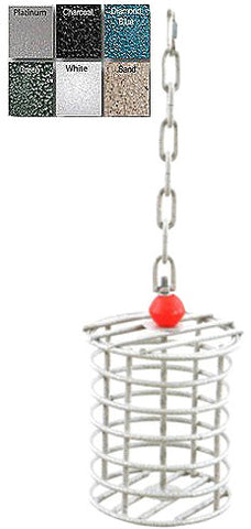 A&E Cage AE-RTFL Platinum Large Round Bird Toy Feeder - Peazz.com