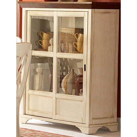 Homelegance Ohana Curio in White - Peazz.com - 1