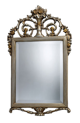 Dimond DM1926 Stewart Mirror In Antique Silver With Gold - Peazz.com
