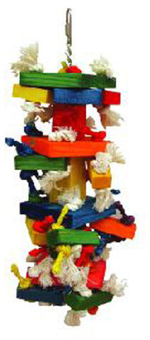 A&E Cage HB46359 The Medium Cluster Blocks Bird Toy - Peazz.com