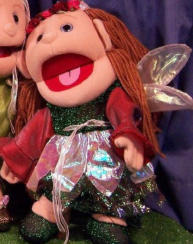"14"" Fairy Glove Puppet Summer - Peazz.com"