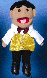 "14"" Hispanic Boy Glove Puppet w/ Vest - Peazz.com"