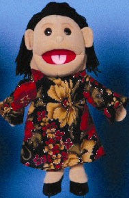 "14"" Mom Glove Puppet Hispanic - Peazz.com"