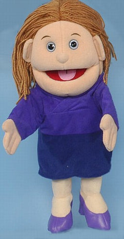 "14"" Mom Glove Puppet White - Peazz.com"