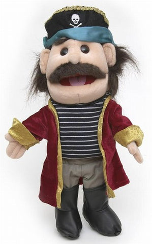 "14"" Pirate Glove Puppet - Peazz.com"