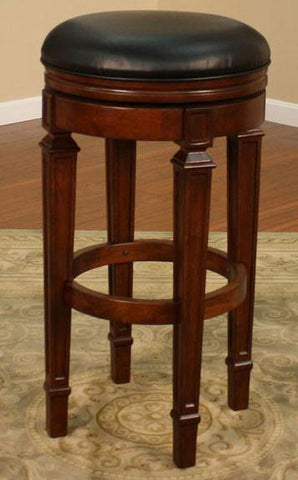 American Heritage Swivel Oxford Bar Stool 30H (100627SD) - BarstoolDirect.com - 1
