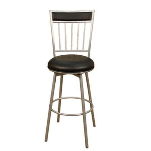 American Heritage Swivel Alliance Counter Stool 24H (124747SI-V01) - BarstoolDirect.com - 1