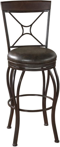 American Heritage Billiards 126910POR Transitional Counter Stool - BarstoolDirect.com